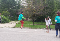 Block party - jump rope