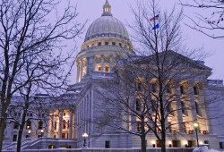 madison wi winter